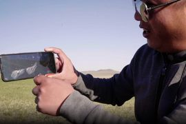 This smartphone was dropped from 1,03,500 feet and miraculously survived