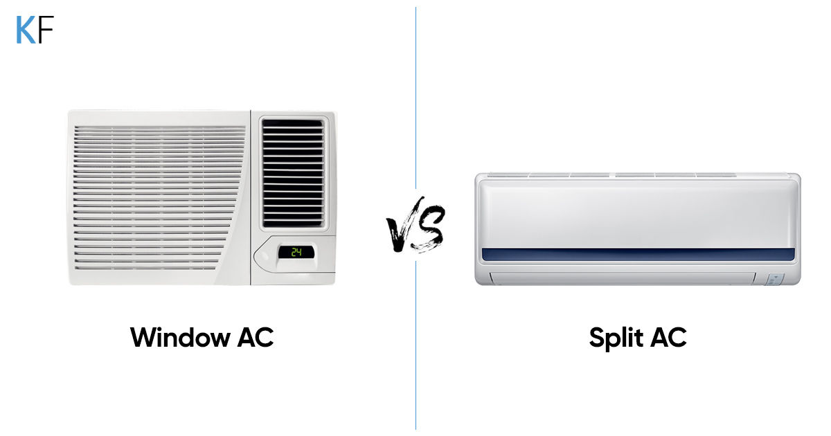 Split AC vs window AC: which type is best for you?